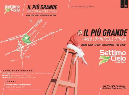 SETTIMO CIELO E' IL RETAIL PARK PIU' GRANDE IN ITALIA