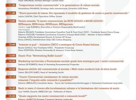 """NON SOLO SHOPPING: L'IMPATTO """"SOCIALE"""" DEI CENTRI COMMERCIALI IN ITALIA"""