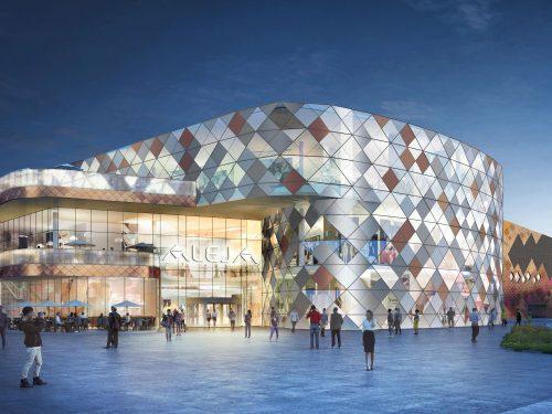Il 19 marzo 2020 apre il nuovo centro commerciale SES ALEJA in Slovenia